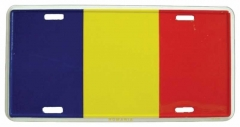 Rumänien Blechschild - 30cm x 15cm