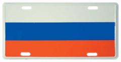 Russland Blechschild - 30cm x 15cm