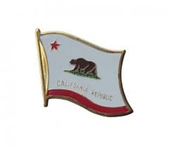 Anstecker California Republic