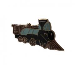 Pin Badge Train
