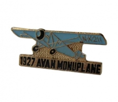 Anstecker 1927 Avan Monoplane