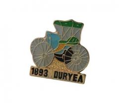 Anstecker 1893 Duryea