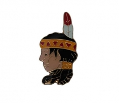 Anstecker Red Indian