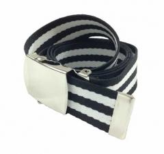 Black & White Canvas Belt