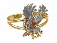 Armspange Fliegender Adler Goldfarben