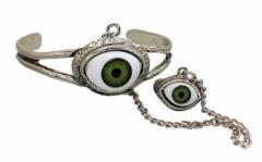Armreifen Grünes Auge