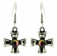 Eiserne Kreuze Ohrringe