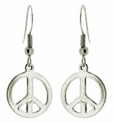 Peace Zeichen Ohrringe