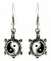 Yin Yang Zeichen Ohrhänger