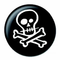 Anstecker Skull & Crossbones