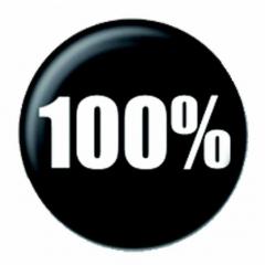 Anstecker 100%