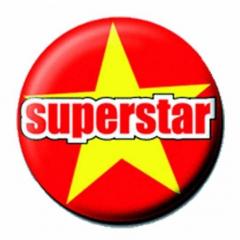 Button Badge Superstar