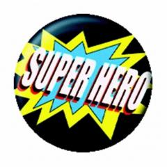 Anstecker Super Hero
