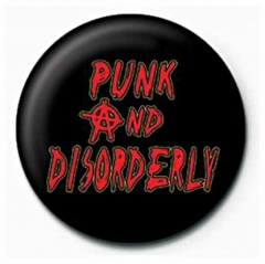 Anstecker Punk And Disorderly