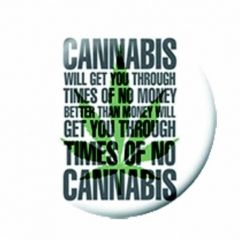 Anstecker Cannabis