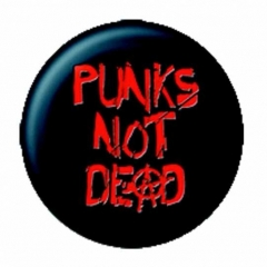 Postkartenset Punks Not Dead