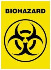 Postkartenset Biohazard