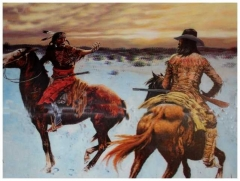 3D Poster Western