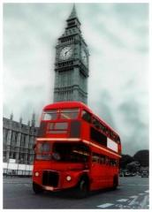 3D Poster London Big Ben