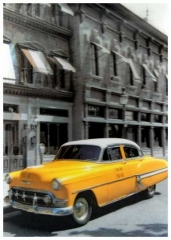 3D Poster Taxi