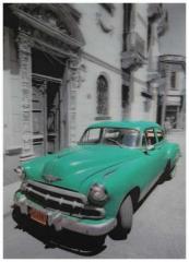 3D Poster Oldtimer