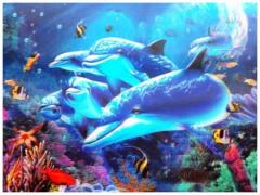 3D Poster Unterwasser Welt