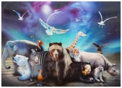 3D Poster Planet der Tiere