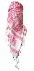 Plo Scarf - White Red