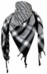 Plo Scarf - Black White