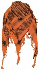 Plo Scarf - Orange Black