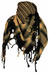 Plo Scarf - Black Orange
