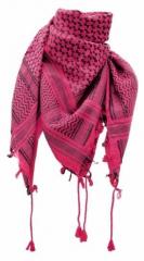 Palästinensertuch Pink Schwarz