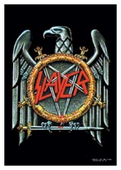 Posterfahne Slayer