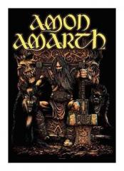 Posterfahne Amon Amarth Thor