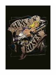 Posterfahne Guns N Roses Gunride