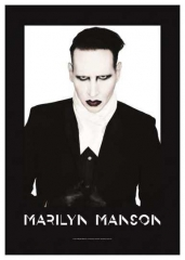 Posterfahne Marilyn Manson