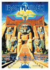 Posterfahne Iron Maiden - Power Slave