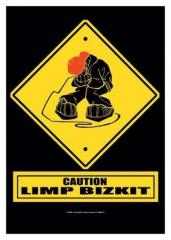 Posterfahne Limp Bizkit