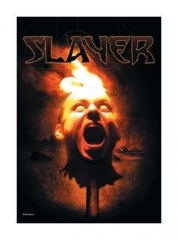 Posterfahne Slayer Torch Head