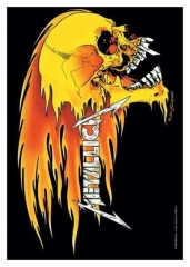 Posterfahne Metallica