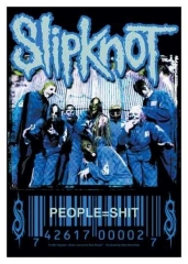 Posterfahne Slipknot - People=Shit
