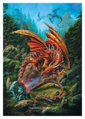 Posterfahne Alchemy - Dragons of the Runering