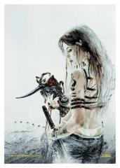 Posterfahne Luis Royo