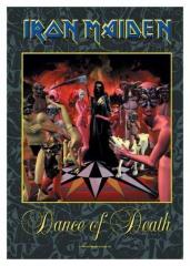 Posterfahne Iron Maiden -Dance of Death