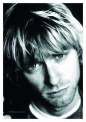 Posterfahne Kurt Cobain - 10th Anniversary