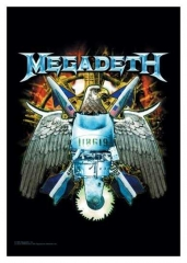 Posterfahne Megadeth