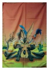 Posterfahne Wile E. Coyote