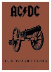 Posterfahne AC/DC