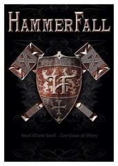Posterfahne Hammerfall Steel Meets Steel