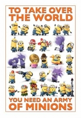 Maxi Poster Despicable Me 2 (Take Over The World)